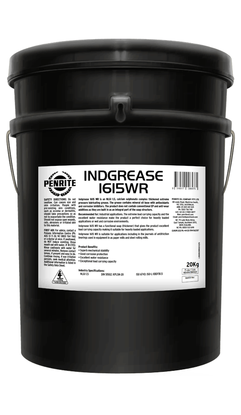 Penrite Oil- INDGREASE 1615WR - Greases
