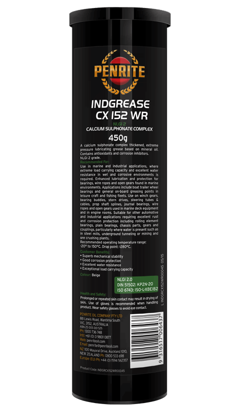 Penrite Oil- INDGREASE CX 152WR - Greases