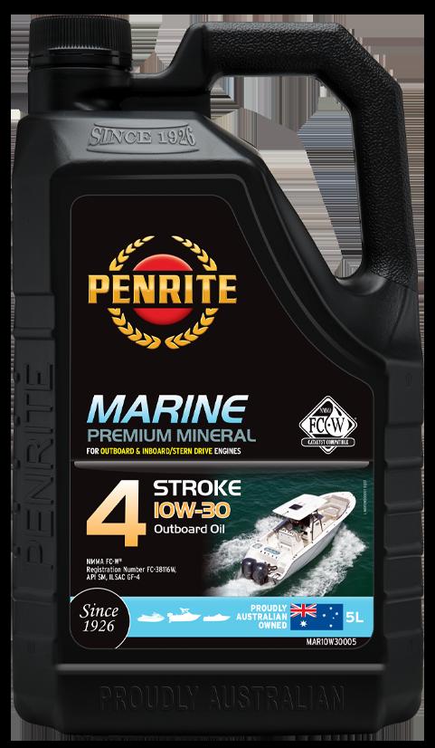 Penrite Oil- MARINE OUTBOARD 10W-30 (Mineral) - Marine