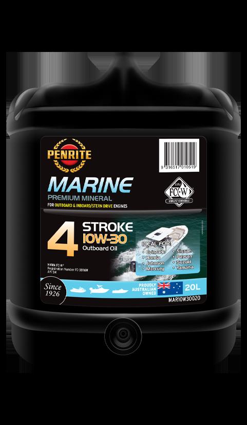 Penrite Oil - MARINE OUTBOARD 10W-30 (Mineral) - 20L