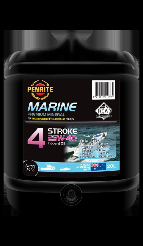 Penrite Oil - MARINE INBOARD 25W-40 (Mineral) - 20L