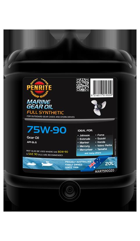Penrite Oil - MARINE GEAR OIL 75W-90 (Full Syn.) - 20L