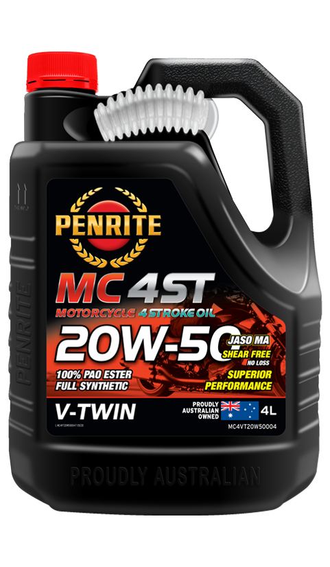 MC-4ST V TWIN 20W-50 (PAO & ESTER)