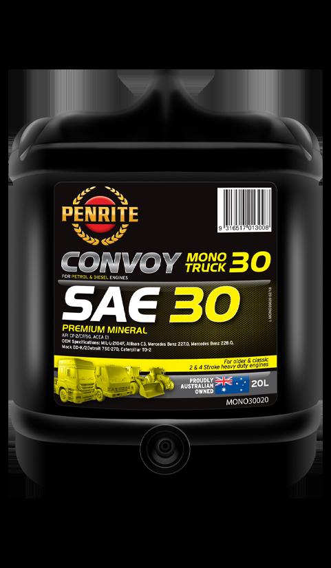Penrite Oil- CONVOY MONO TRUCK 30 (Mineral) - Petrol / E10