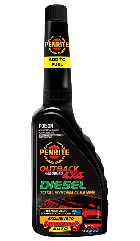 OUTBACK HARDENED 4X4 DIESEL TOTAL SYSTEM CLEANER