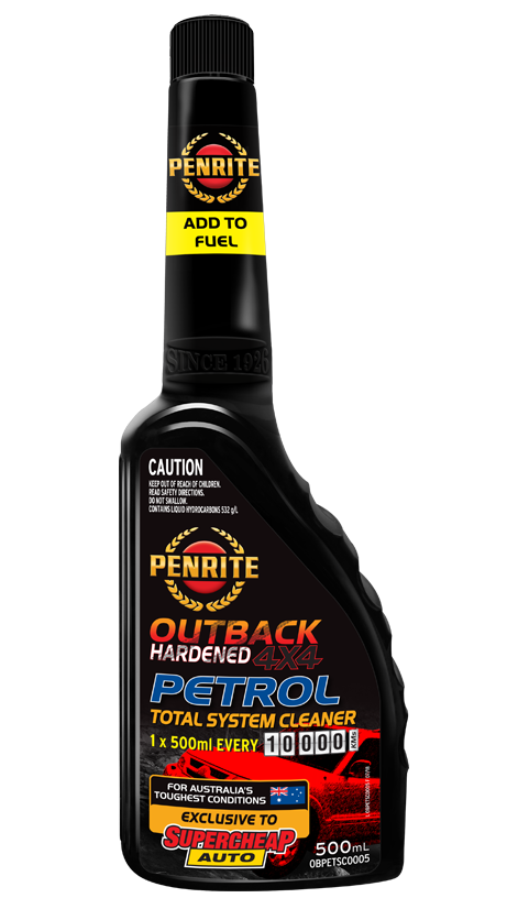 OUTBACK HARDENED 4X4 PETROL TOTAL SYSTEM CLEANER
