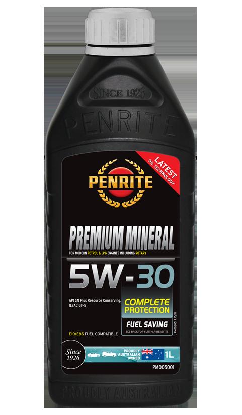 Penrite Oil - PREMIUM MINERAL 5W-30 - 1L