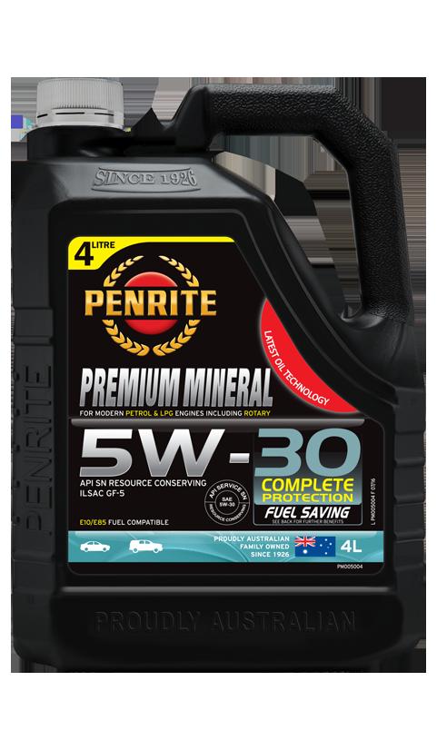 Penrite Oil - PREMIUM MINERAL 5W-30 - 4L