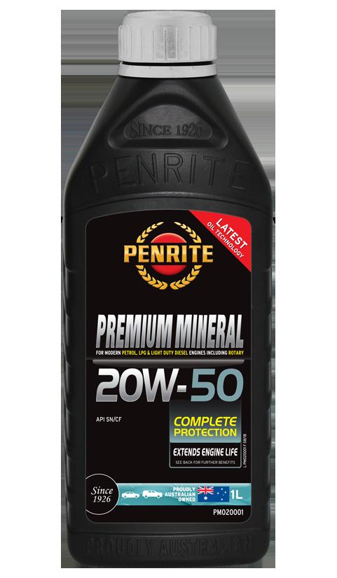 Penrite Oil - PREMIUM MINERAL 20W-50 - 1L