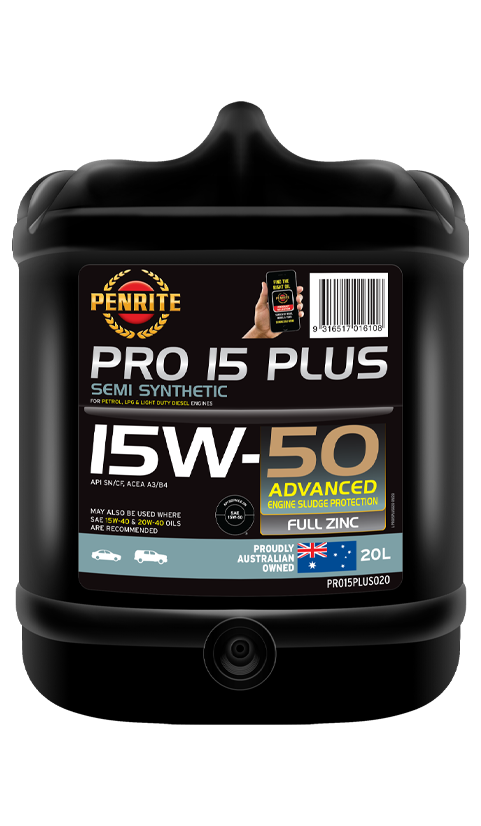 Penrite Oil- PRO 15 PLUS 15W-50 (Semi Syn) (TRADE ONLY) - LPG (Gas) / Dual Fuel