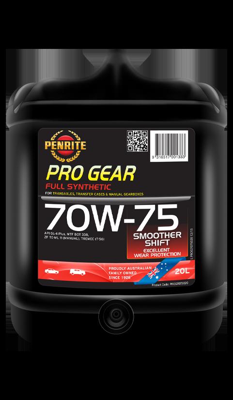 Penrite Oil - PRO GEAR 70W-75 (Full Syn.) - 20L
