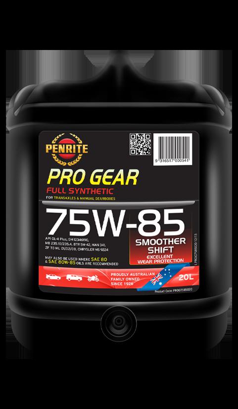 Penrite Oil - PRO GEAR 75W-85 (Full Syn.) - 20L
