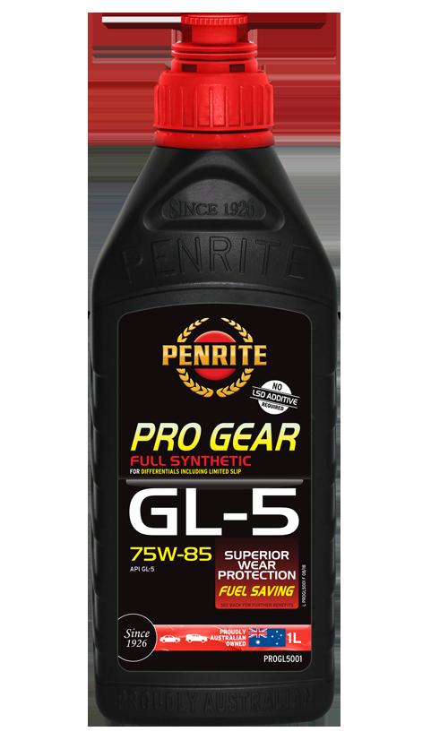 Penrite Oil - PRO GEAR GL-5 75W-85 (Full Syn)  - 1L