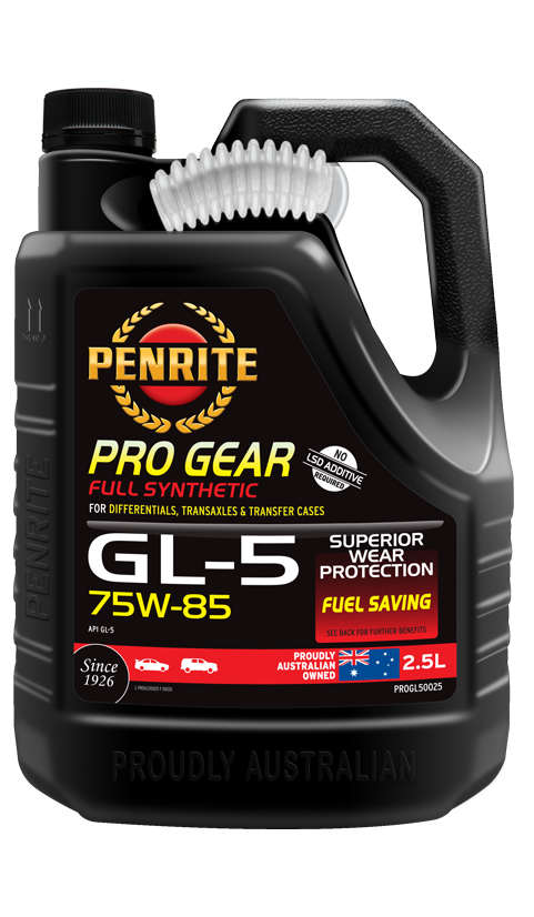 Penrite Oil- PRO GEAR GL-5 75W-85 (Full Syn)  - Manual Transmission/Differential Gear Oils