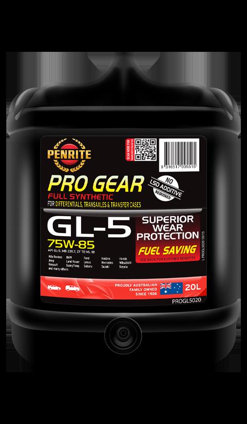 Penrite Oil - PRO GEAR GL-5 75W-85 (Full Syn)  - 20L