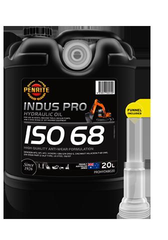 Penrite Oil - INDUS PRO HYDRAULIC 68 - 20L