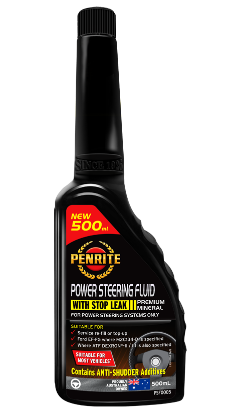 Penrite Oil - POWER STEERING FLUID - 500mL