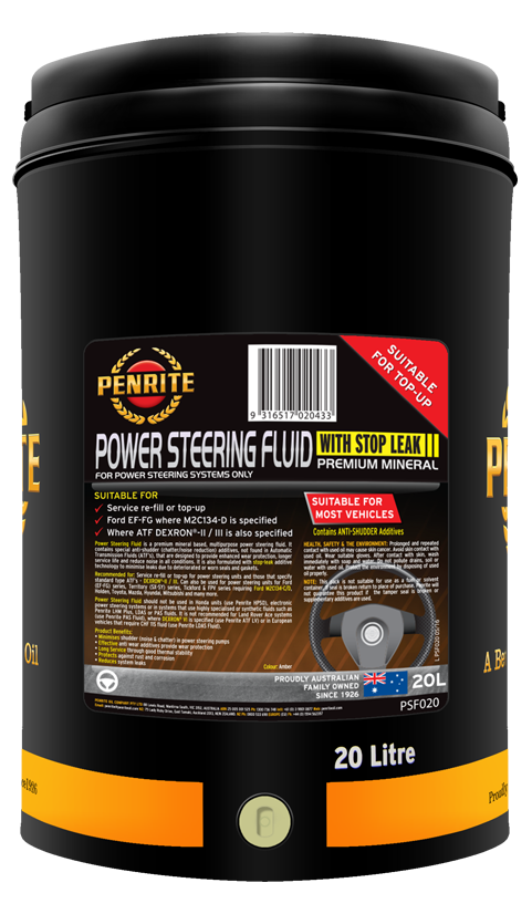 Penrite Oil - POWER STEERING FLUID - 20L