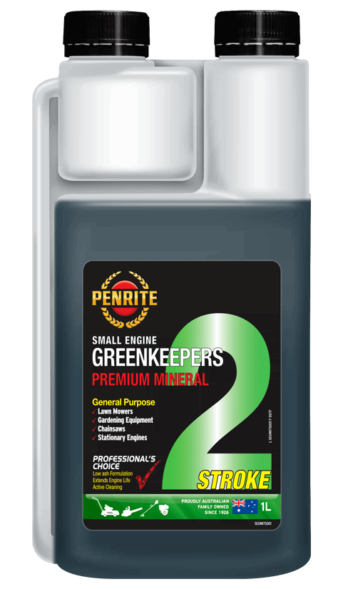 Penrite Oil- GREENKEEPERS 2 STROKE OIL (Mineral) - Garden