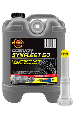 Penrite Oil- SYNFLEET 50 SAE 50 (Full Syn.) - Gear/Differential Oils