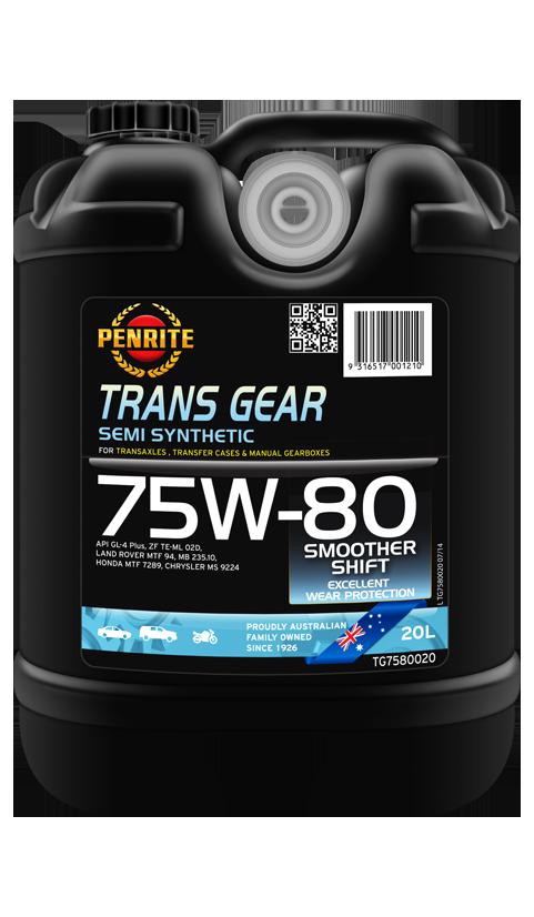 Penrite Oil - TRANS GEAR 75W-80 (Semi Syn.) - 20L