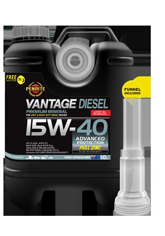 Penrite Oil- VANTAGE DIESEL 15W-40 MINERAL - 15W-40