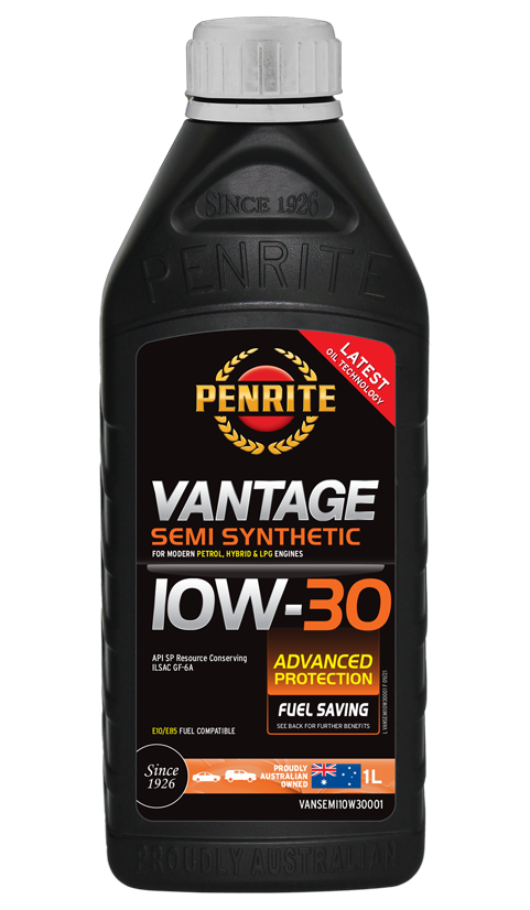 Penrite Oil - VANTAGE SEMI SYNTHETIC 10W-30 - 1L