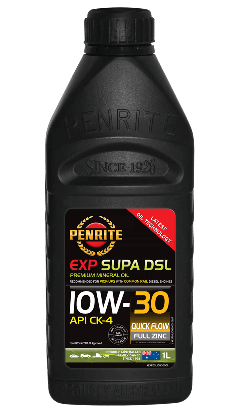 Penrite Oil - EXP SUPA DSL 10W-30 - 1L