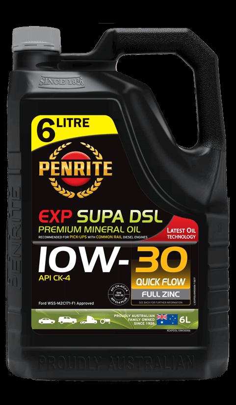 Penrite Oil- EXP SUPA DSL 10W-30 - Export