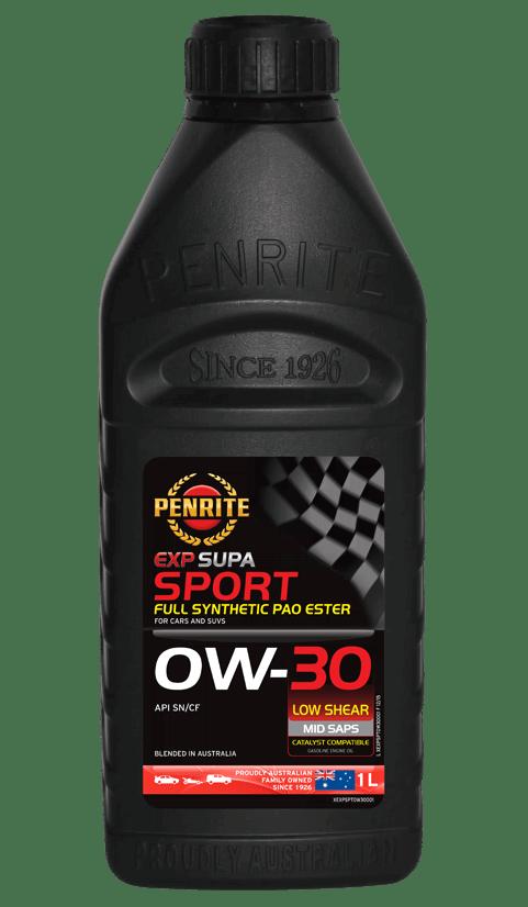 Penrite Oil- EXP SUPA SPORT 0W-30 - Export
