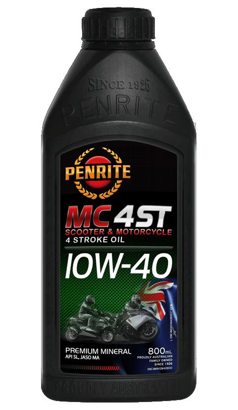 Penrite Oil - MC4 ST 10W-40 - 800mL