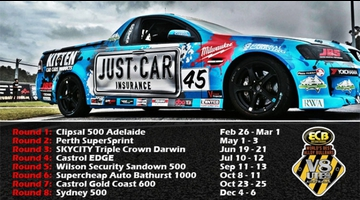 2015 East Coast Bullbars Australian V8 Ute Racing Series