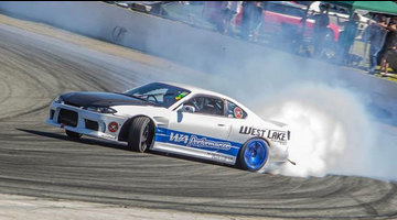 Brendon Greaves Drift team