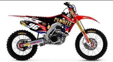 Penrite CRF Honda Racing team