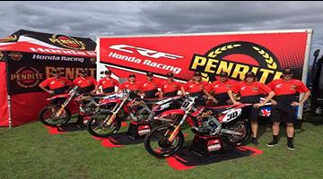Penrite Pirelli CRF Honda Racing